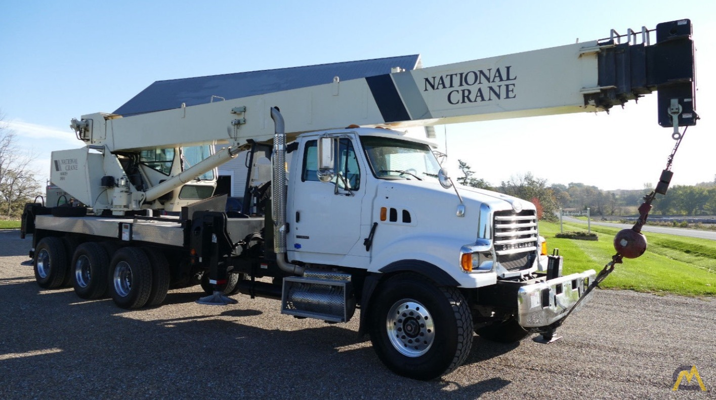 National 18142 40-Ton Boom Truck Crane on Sterling - CranesList ID: 247, 0