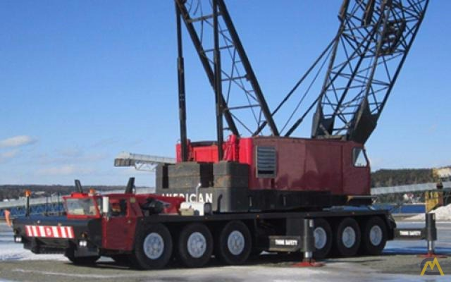 American 9520 200 Ton Conventional Truck Crane For Sale