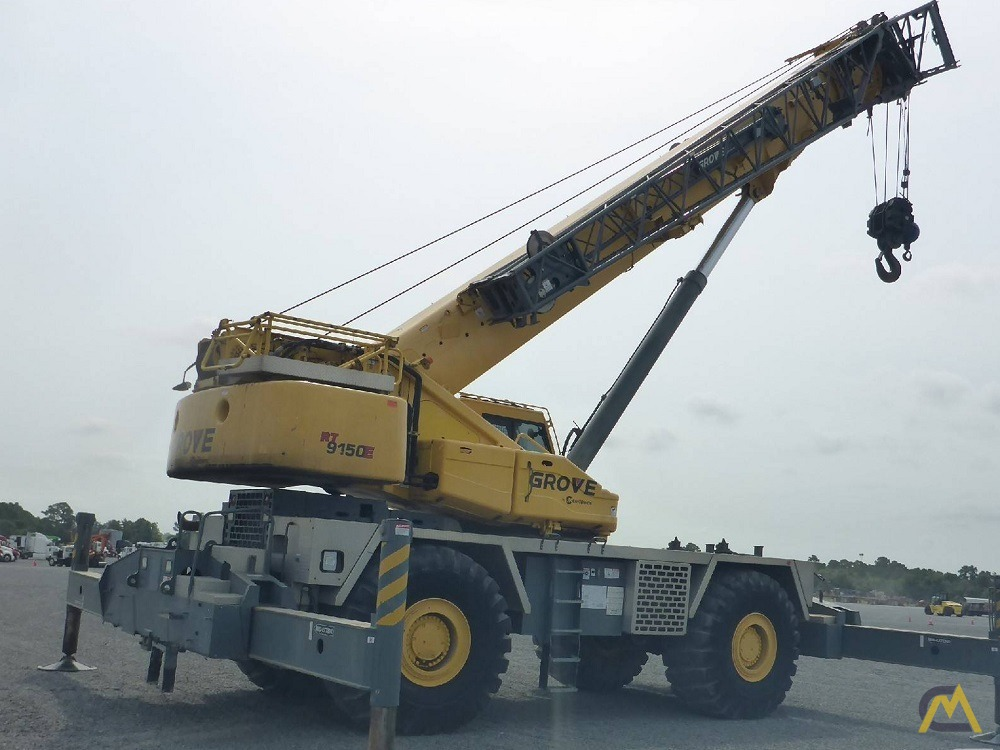 2011 Grove RT9150E 150-Ton Rough Terrain Crane 0