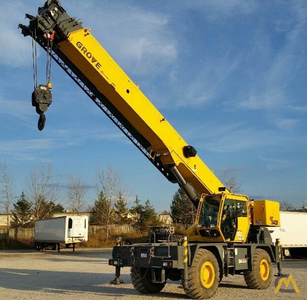 2012 Grove RT540E 40-Ton Rough Terrain Crane 0