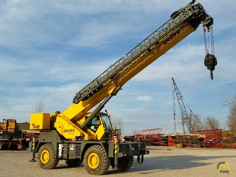 2012 Grove RT540E 40-Ton Rough Terrain Crane 1