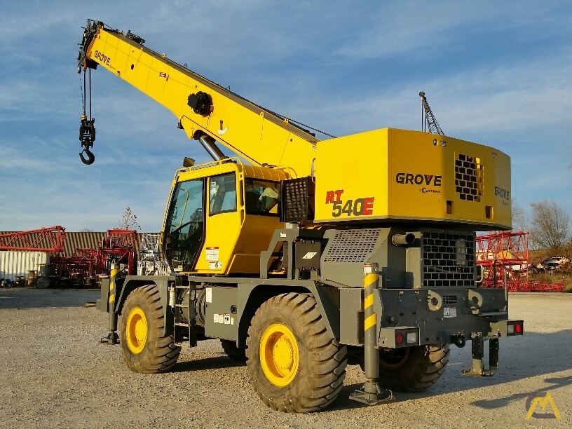 2012 Grove RT540E 40-Ton Rough Terrain Crane 3