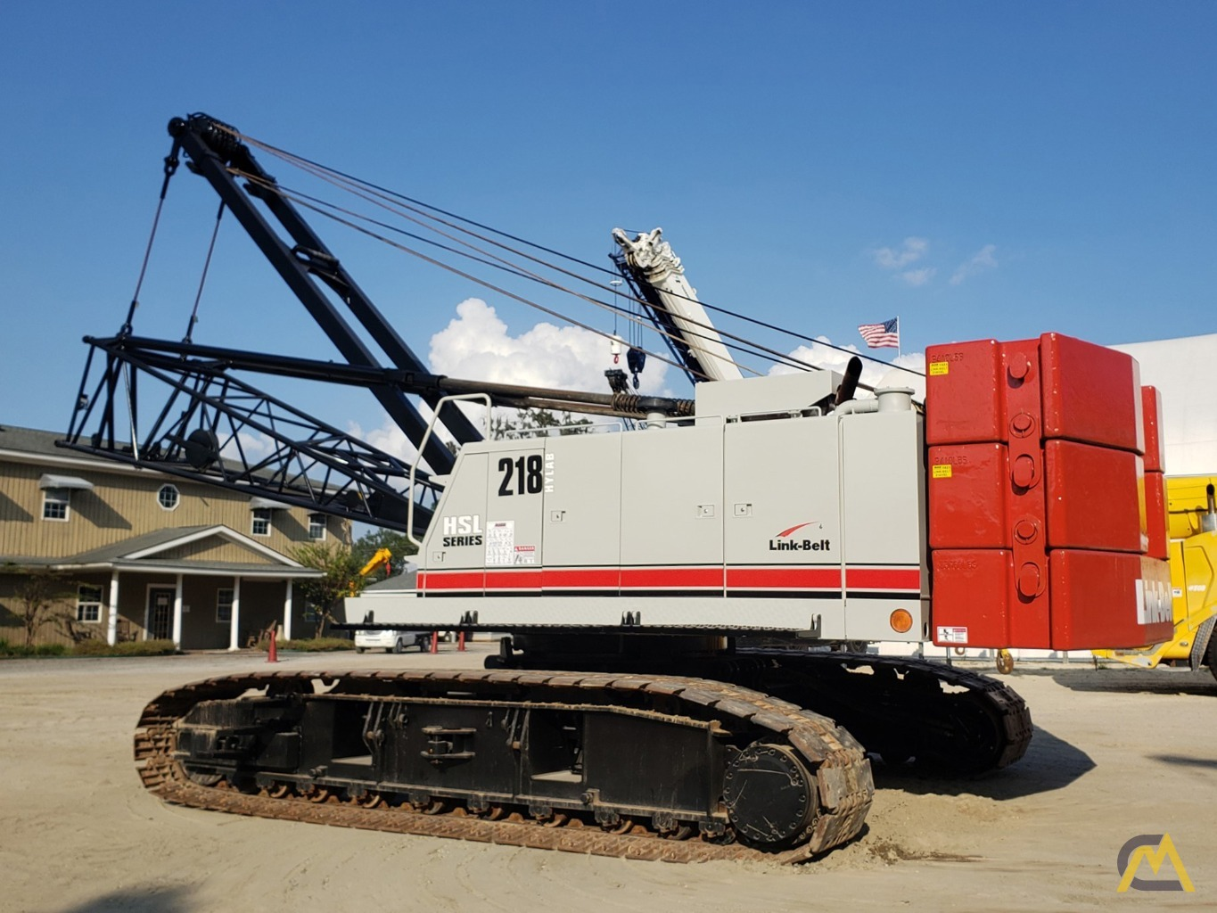 2012 Link-Belt 218HSL 110-Ton Lattice Boom Crawler Crane 1