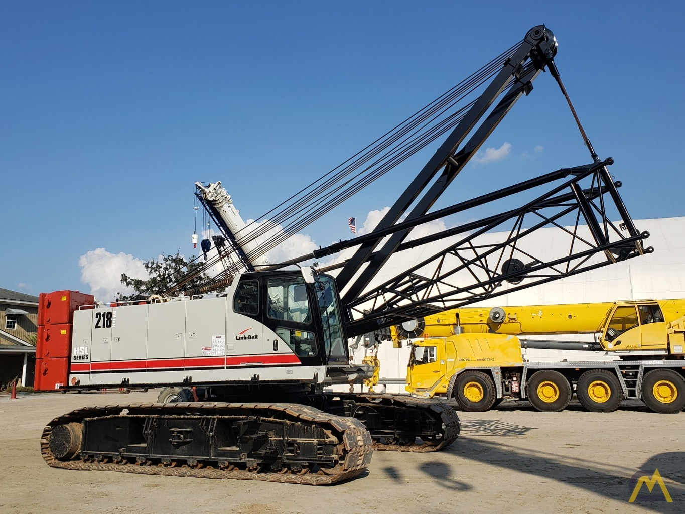 2012 Link-Belt 218HSL 110-Ton Lattice Boom Crawler Crane 0