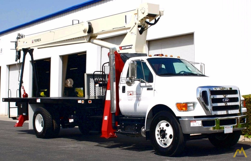 Terex BT3870 19-Ton Boom Truck Crane on Ford F750 0