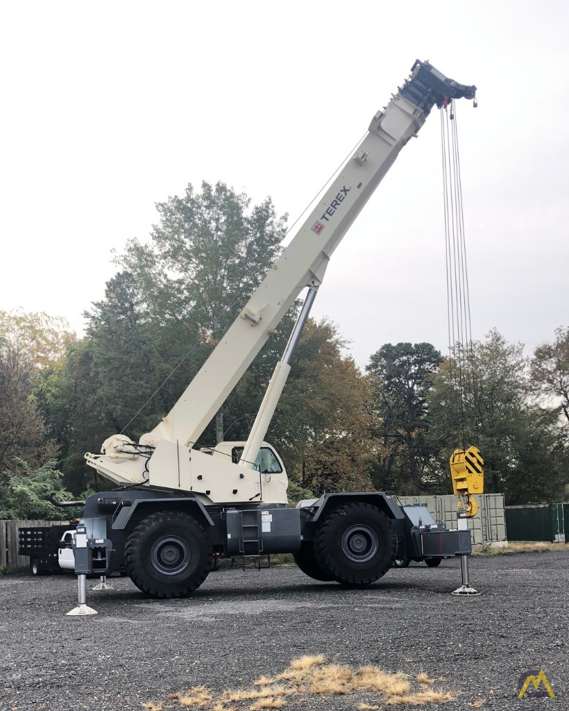 2012 Terex RT130 130-Ton Rough Terrain Crane 2
