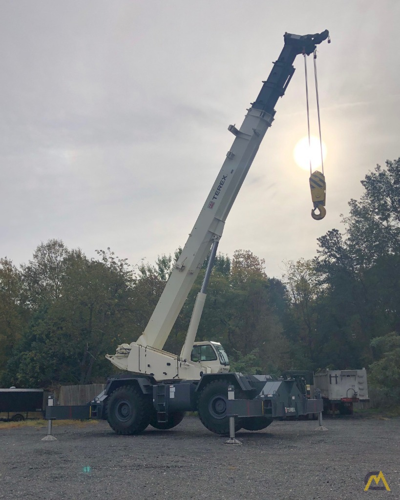 2012 Terex RT130 130-Ton Rough Terrain Crane 7
