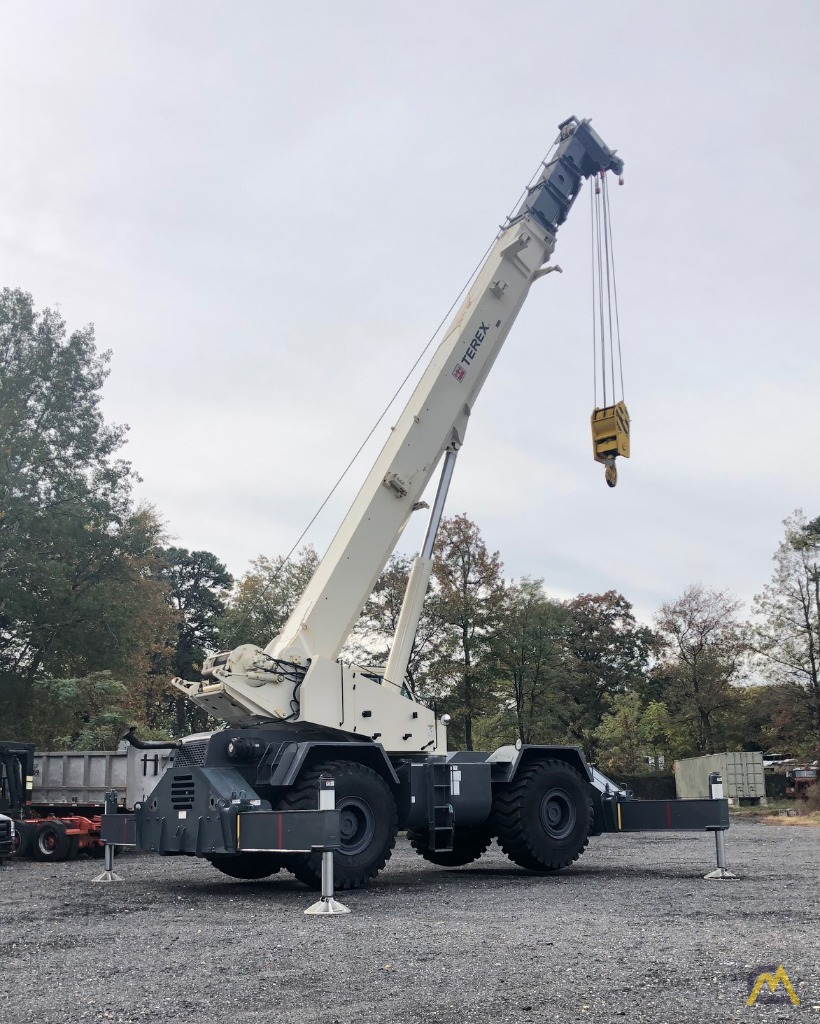 2012 Terex RT130 130-Ton Rough Terrain Crane 8
