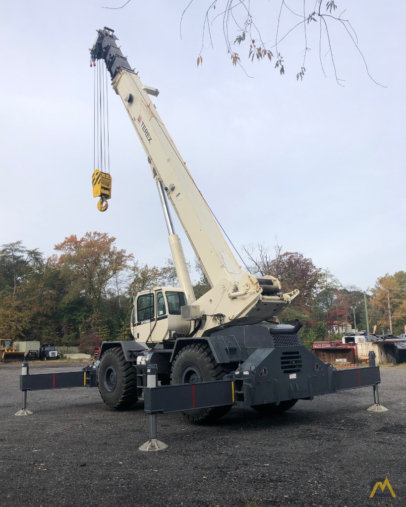 2012 Terex RT130 130-Ton Rough Terrain Crane 10