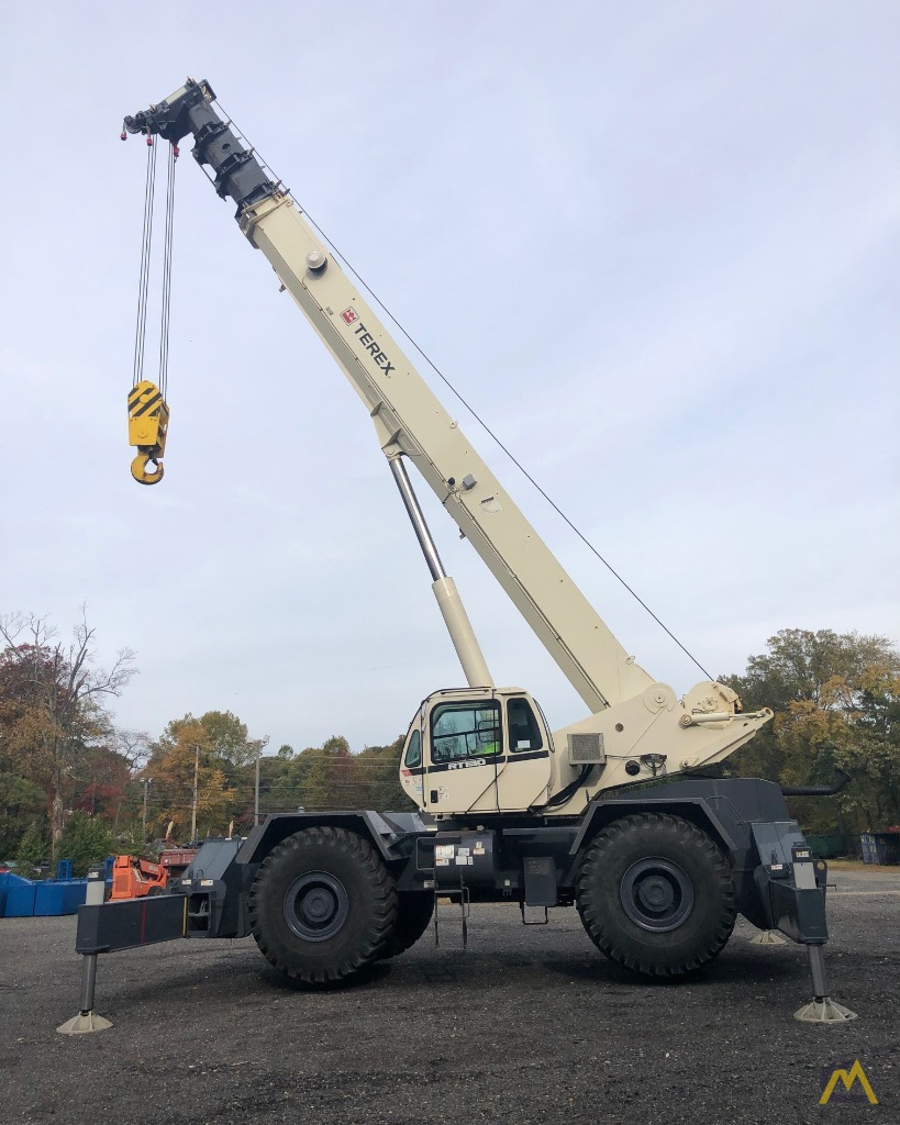 2012 Terex RT130 130-Ton Rough Terrain Crane 11