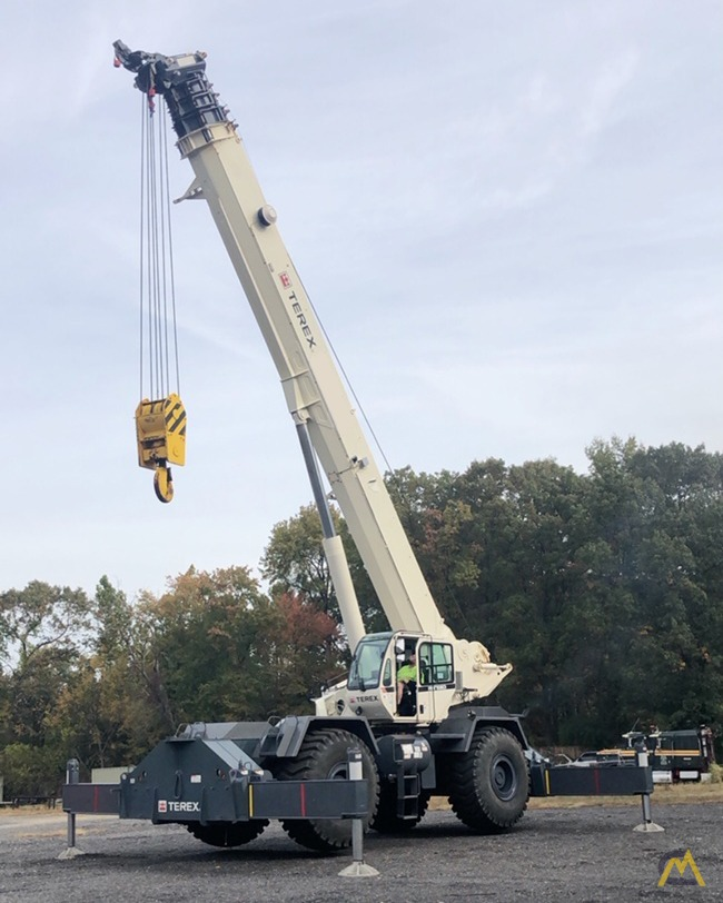 2012 Terex RT130 130-Ton Rough Terrain Crane 0
