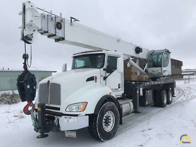 2013/2014 Manitex 40124S w/ New-Style Crane Cab on Kenworth 'Parade Pretty' – One owner/Operator, Low Miles/Hours, Stored Indoors 0