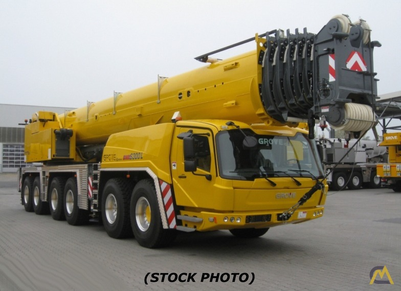 2013 Grove GMK6350L 350-Ton All Terrain Crane 0