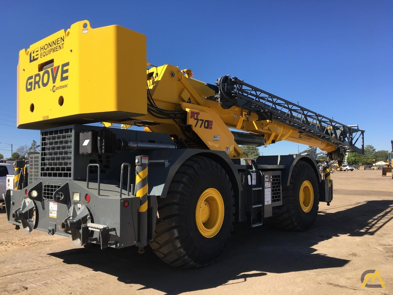 2013 Grove RT770E 70-Ton Rough Terrain Crane 7