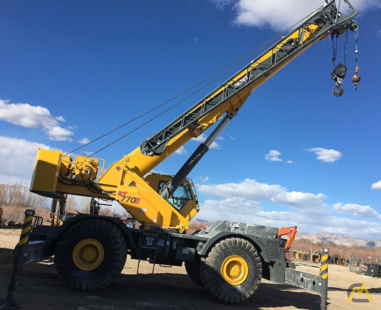 2013 Grove RT770E 70-Ton Rough Terrain Crane 0