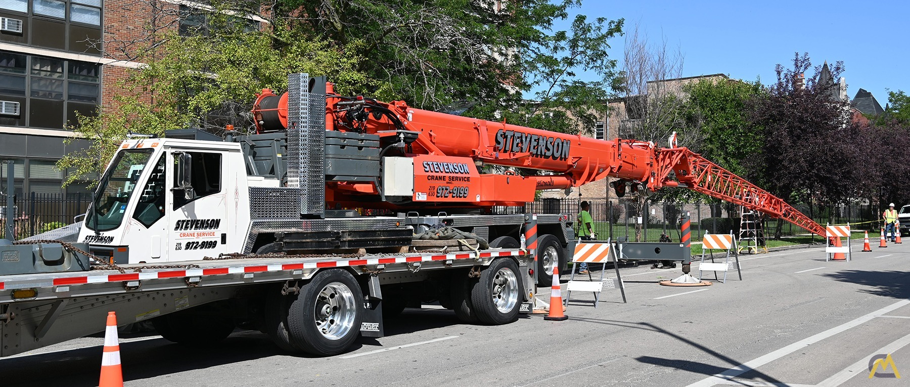 2013 Grove TMS9000E 110-Ton Hydraulic Truck Crane Motivated Seller, All Reasonable Offers Considered 6