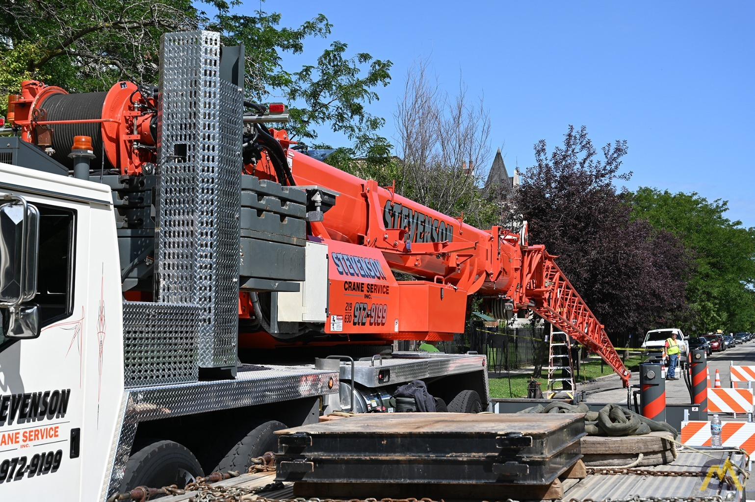 2013 Grove TMS9000E 110-Ton Hydraulic Truck Crane Motivated Seller, All Reasonable Offers Considered 7