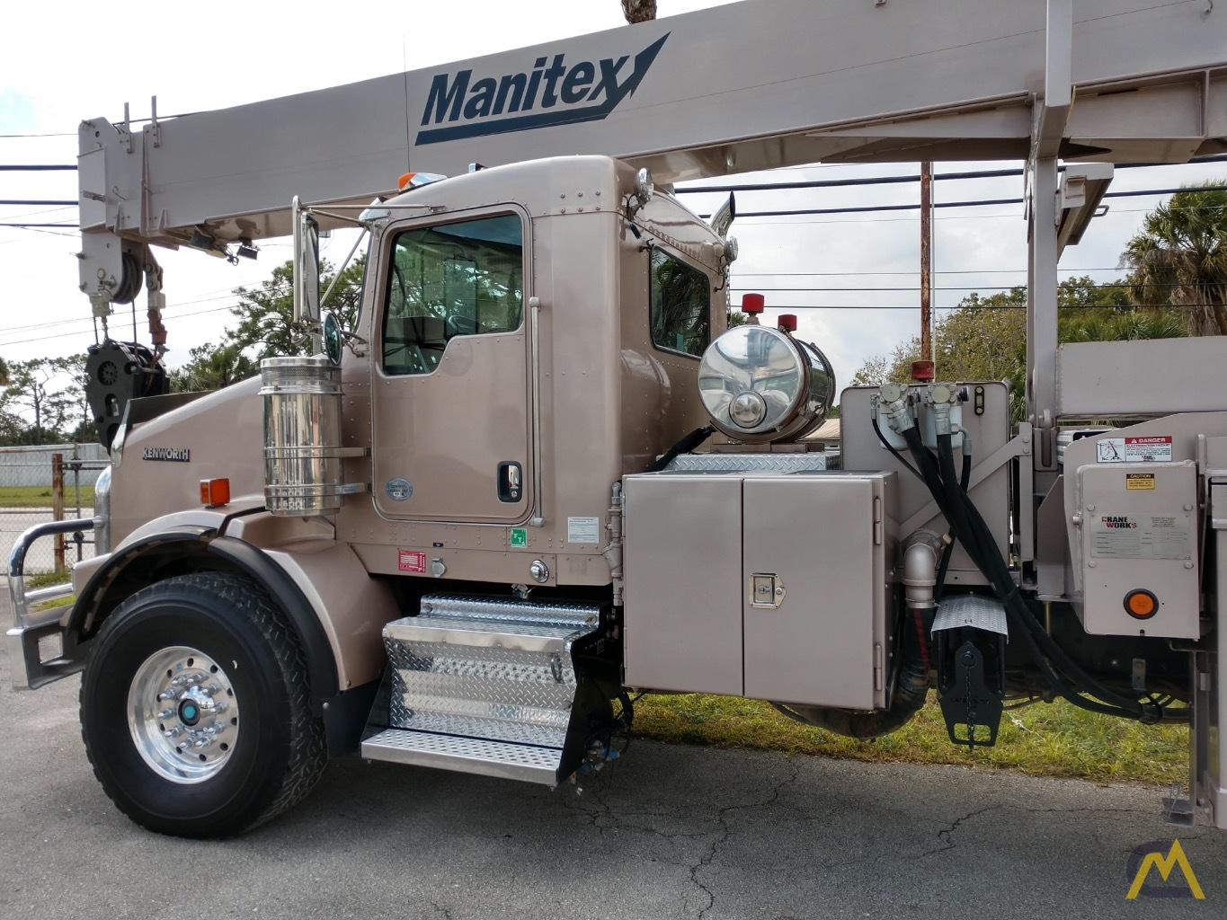 Manitex 5084S 50-ton Boom Truck Crane with LOW HOURS!! 2