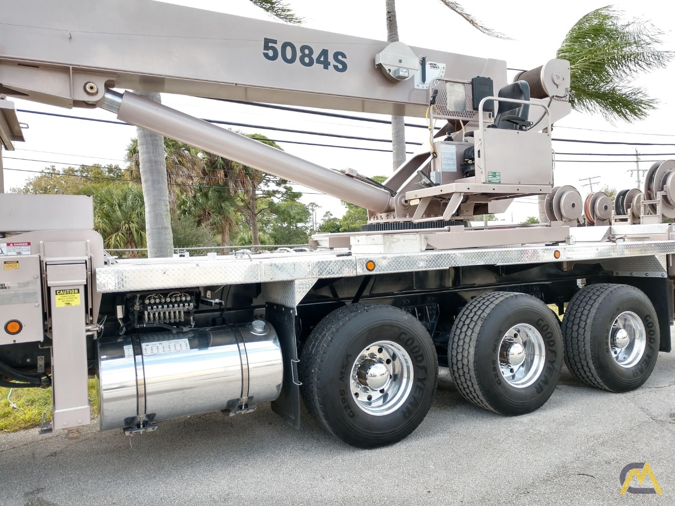 Manitex 5084S 50-ton Boom Truck Crane with LOW HOURS!! 1