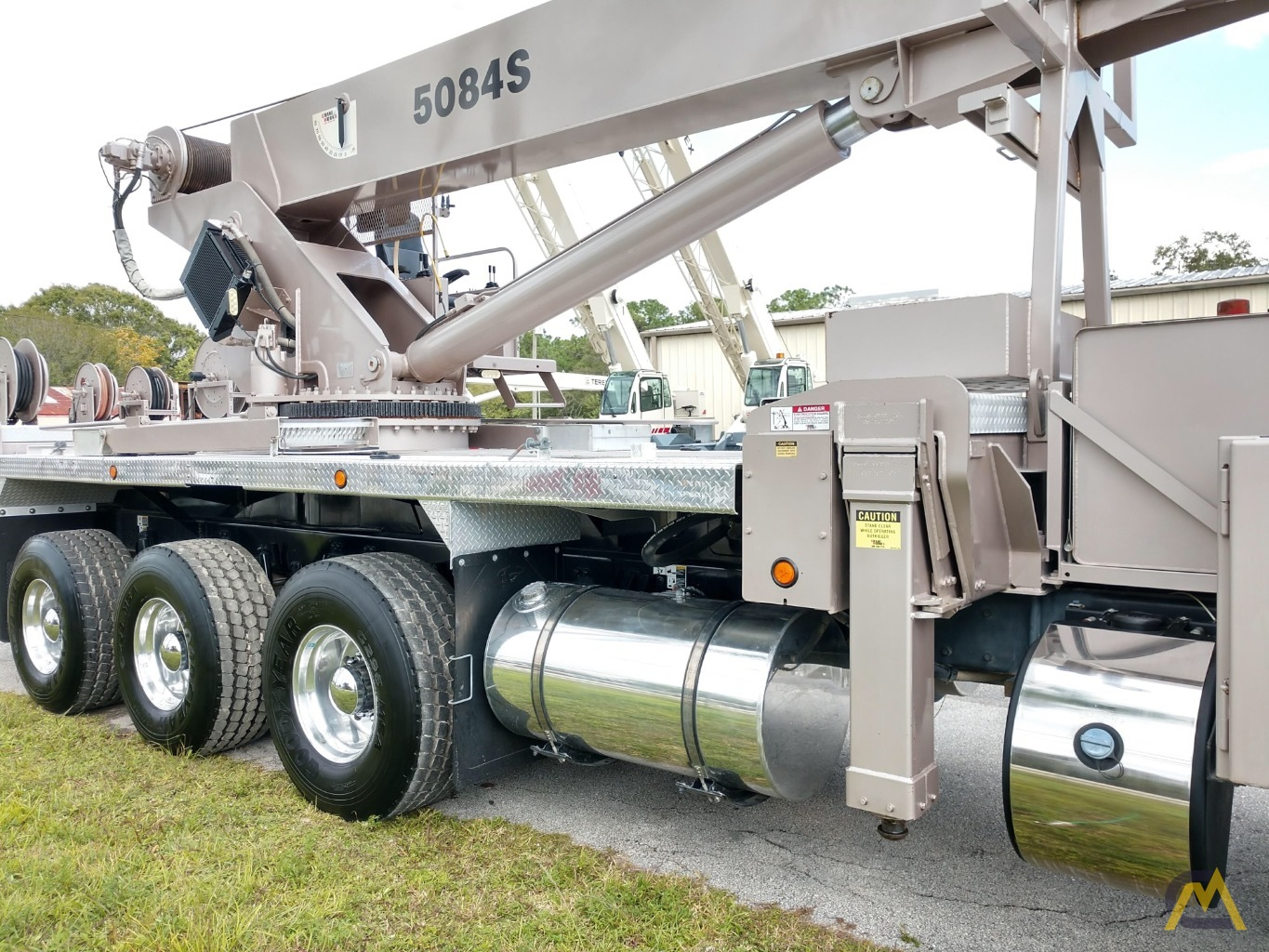 Manitex 5084S 50-ton Boom Truck Crane with LOW HOURS!! 8