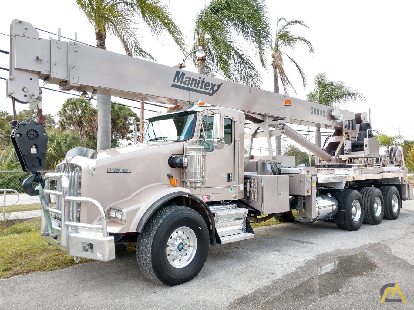 Manitex 5084S 50-ton Boom Truck Crane with LOW HOURS!! 0