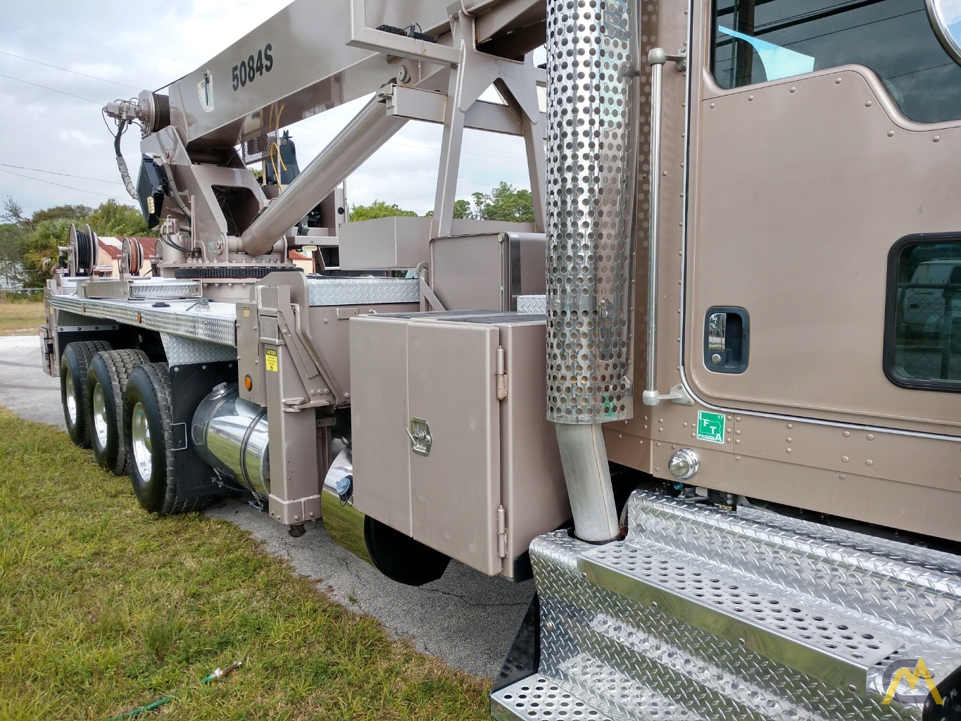 Manitex 5084S 50-ton Boom Truck Crane with LOW HOURS!! 7