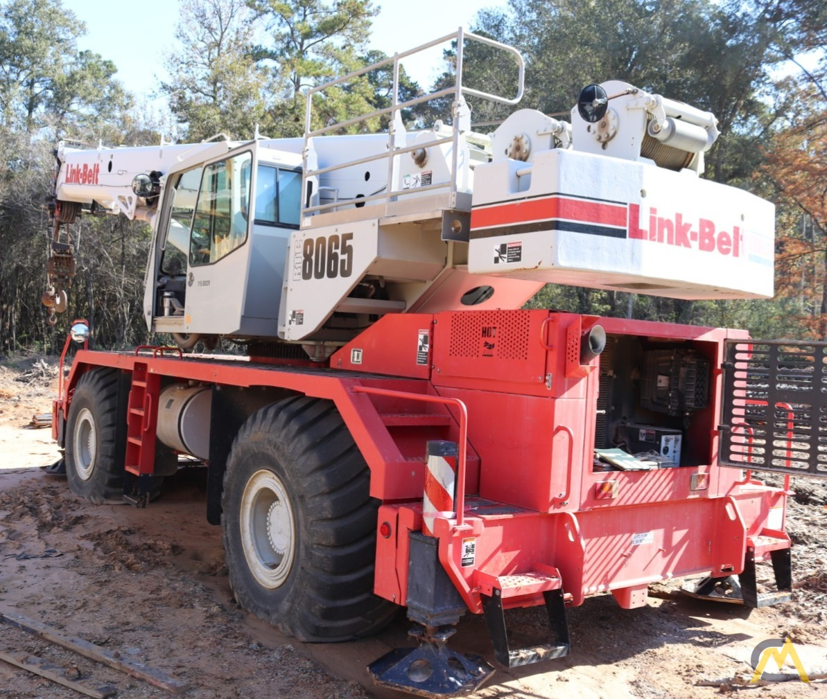 2014 Link-Belt RTC-8065 65-Ton Rough Terrain Crane 0