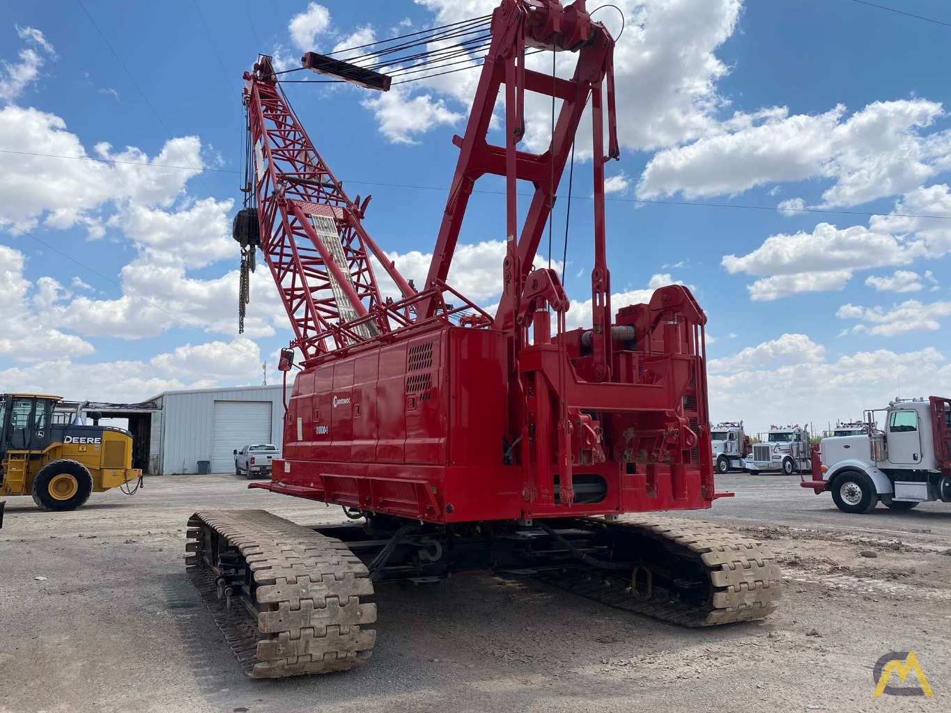 2014 Manitowoc 11000-1 110-Ton Lattice Boom Crawler Crane 1