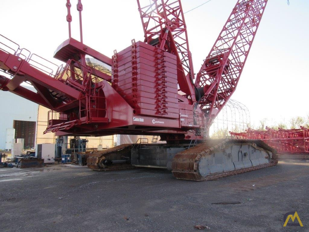 2014 Manitowoc 18000 825-Ton Lattice Boom Crawler Crane 4