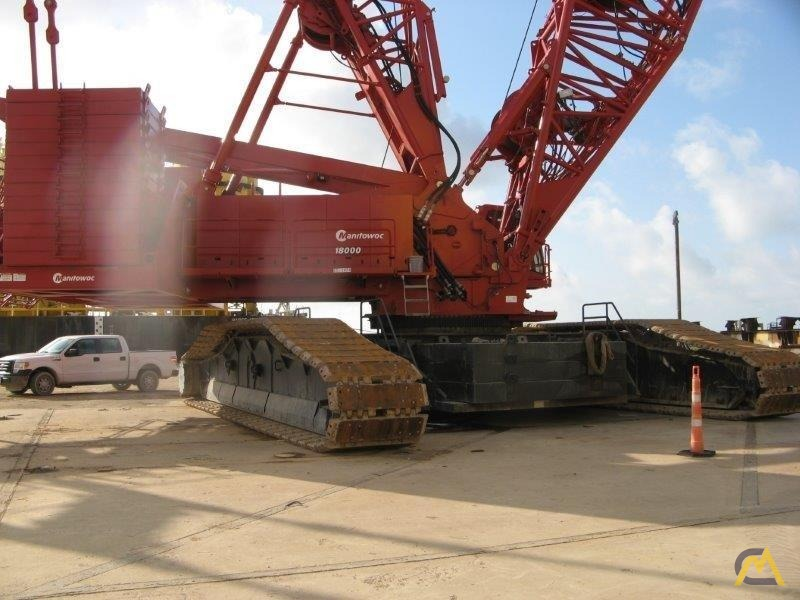 2014 Manitowoc 18000 825-Ton Lattice Boom Crawler Crane 2