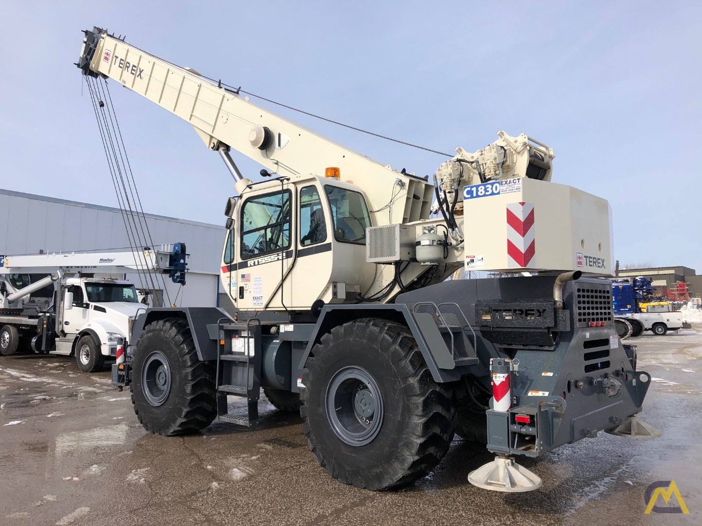 2014 Terex RT 555 55-Ton Rough Terrain Crane 2