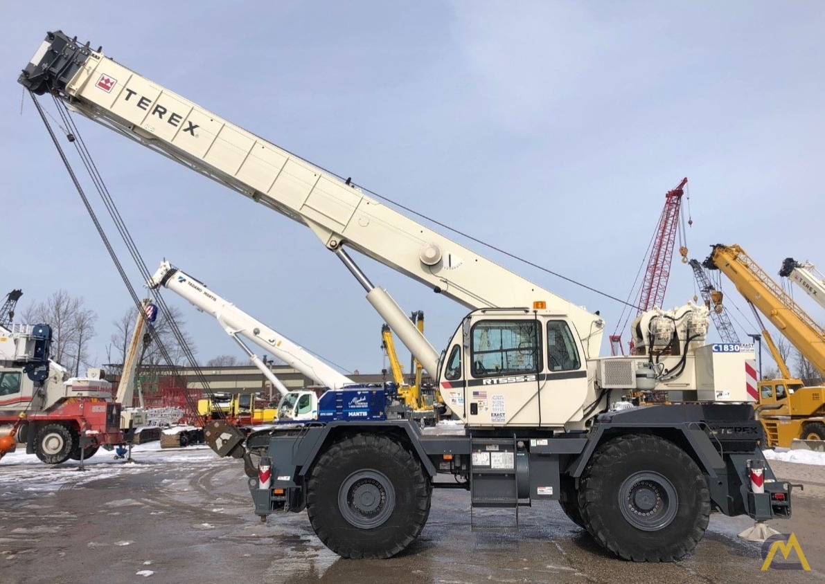 2014 Terex RT 555 55-Ton Rough Terrain Crane 0