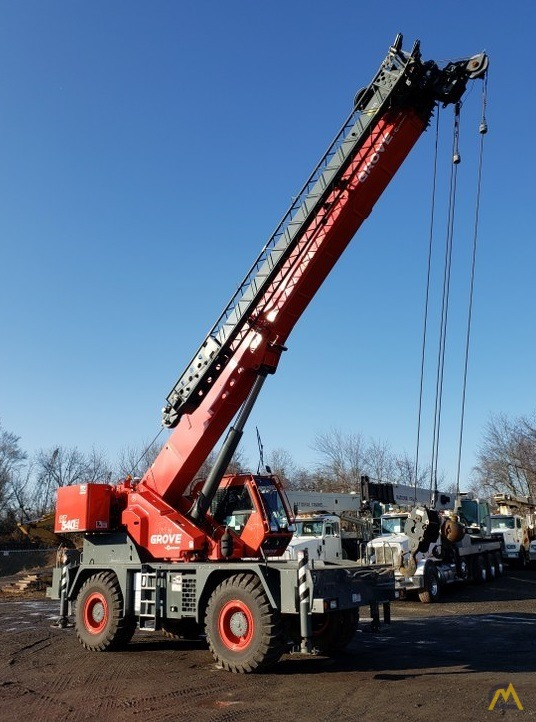 2015 Grove RT540E 40-Ton Rough Terrain Crane 7