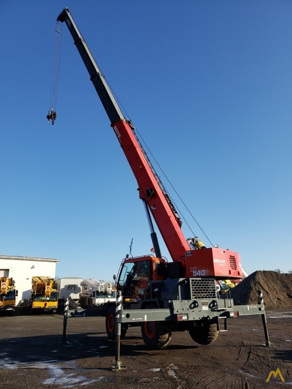 2015 Grove RT540E 40-Ton Rough Terrain Crane 6