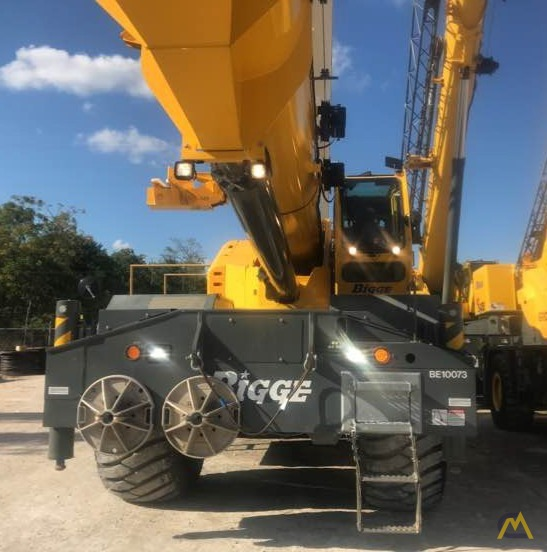 2017 Grove GRT8100 100-Ton Rough Terrain Crane 0