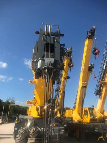 2017 Grove GRT8100 100-Ton Rough Terrain Crane 3