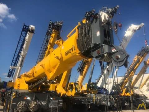 2017 Grove GRT8100 100-Ton Rough Terrain Crane 6