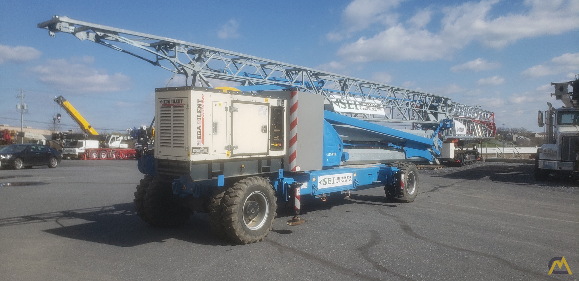 2017 Montarent Montalift M21-4WDS Mobile Tower Crane 4