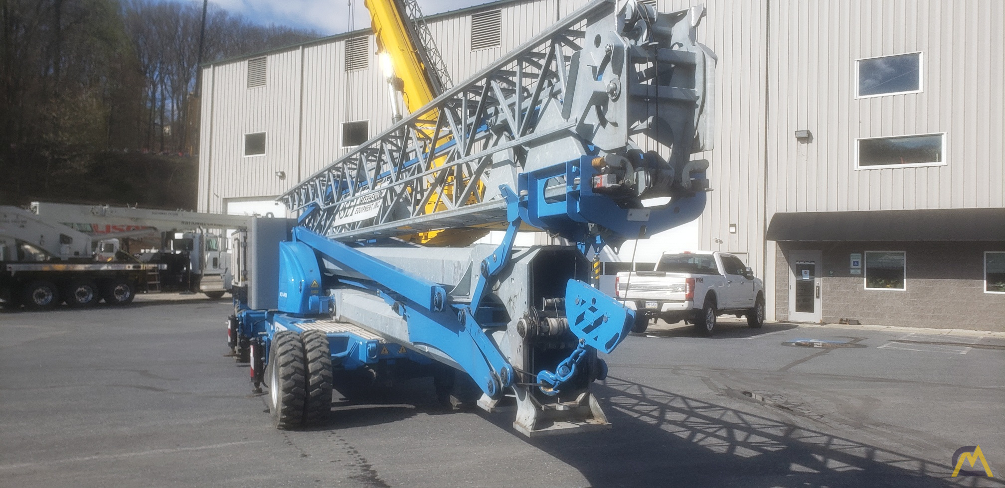 2017 Montarent Montalift M21-4WDS Mobile Tower Crane 2