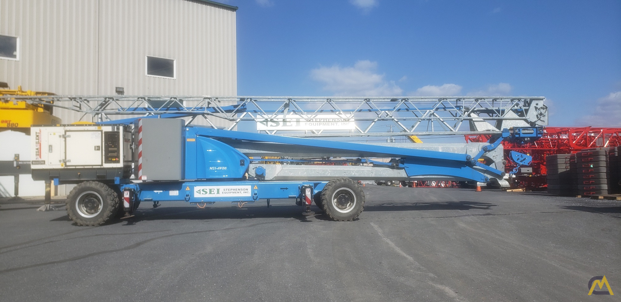 2017 Montarent Montalift M21-4WDS Mobile Tower Crane 3