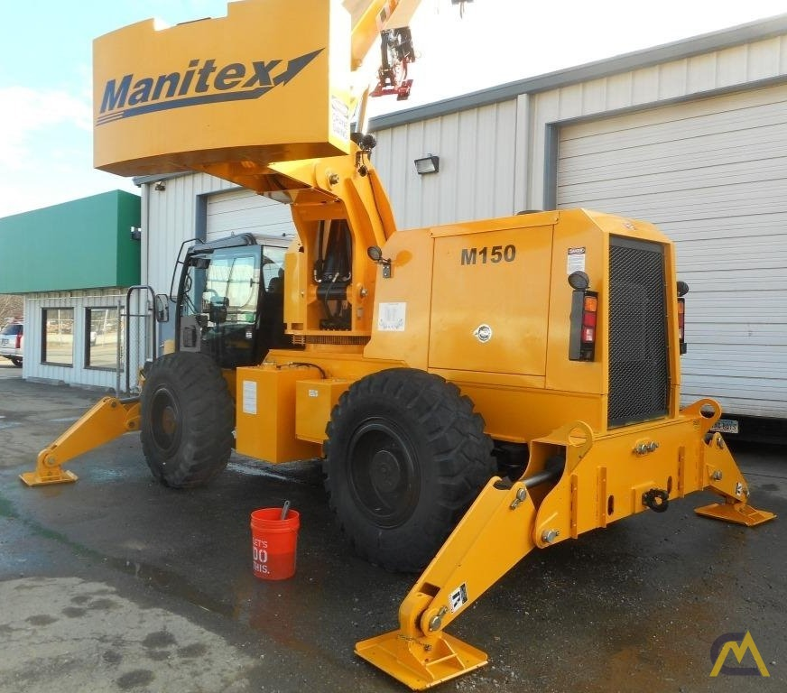 2018 Manitex M150 15-Ton Down Cab Rough Terrain Crane 1