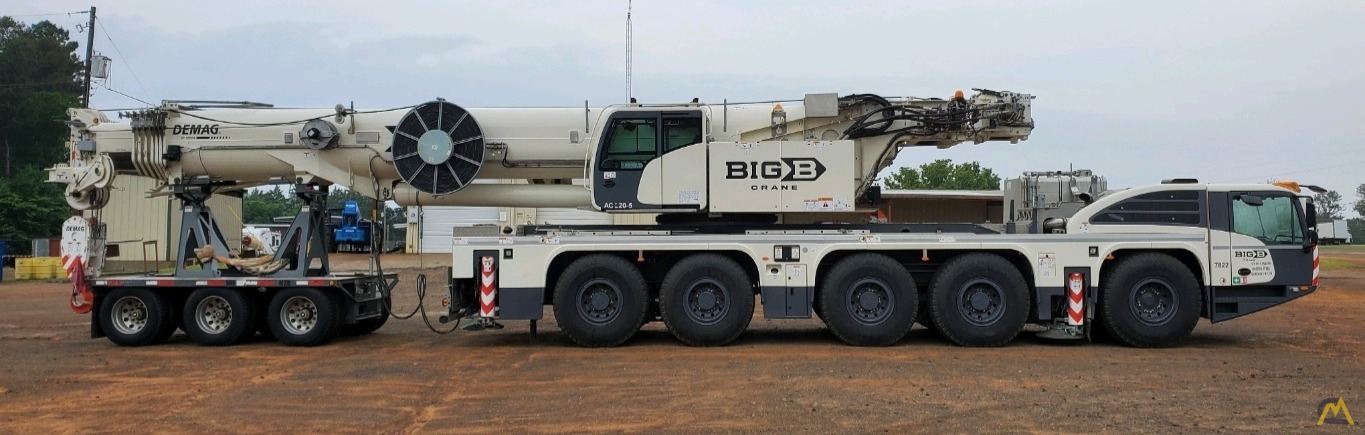LOW HOURS - 2018 Terex Demag AC 220-5 245-Ton All Terrain Crane w/ Dolly 0