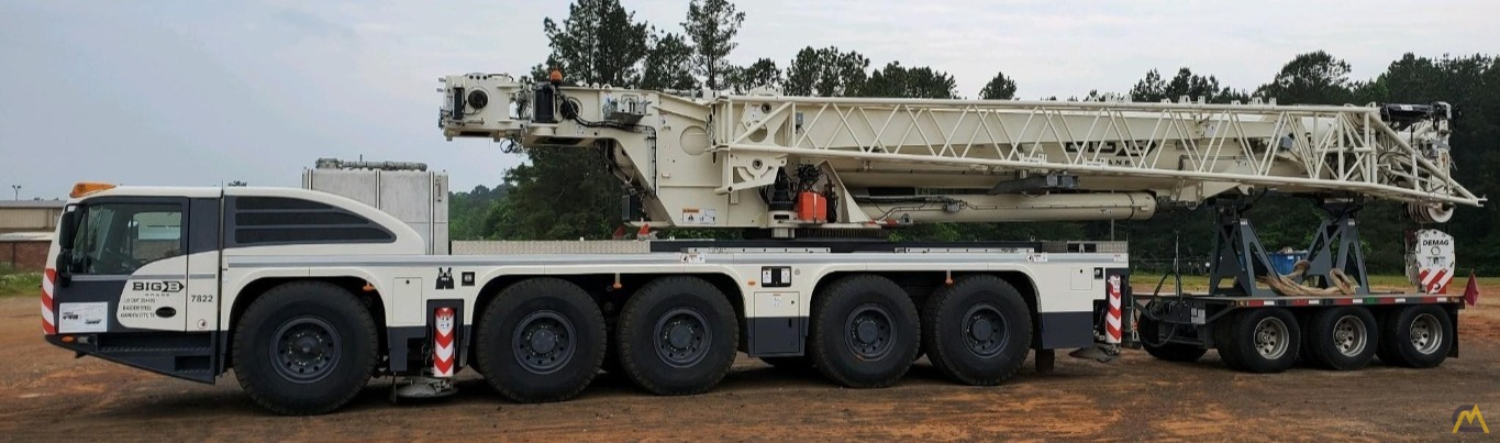 LOW HOURS - 2018 Terex Demag AC 220-5 245-Ton All Terrain Crane w/ Dolly 1