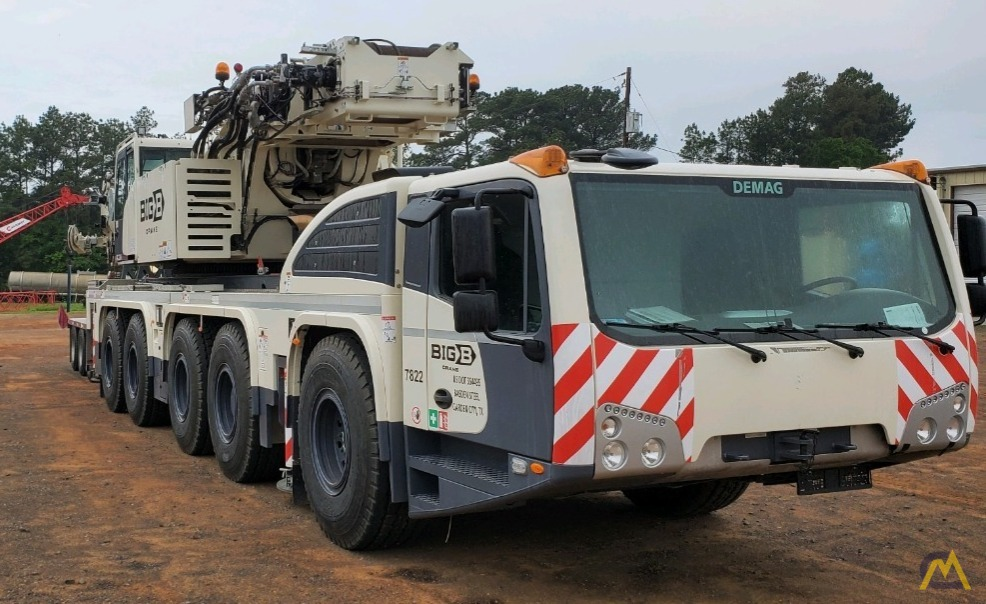 LOW HOURS - 2018 Terex Demag AC 220-5 245-Ton All Terrain Crane w/ Dolly 2