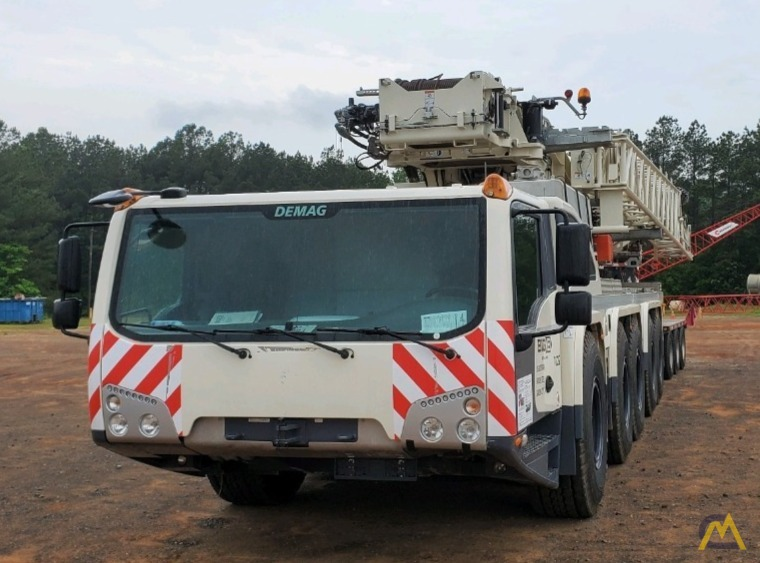 LOW HOURS - 2018 Terex Demag AC 220-5 245-Ton All Terrain Crane w/ Dolly 3
