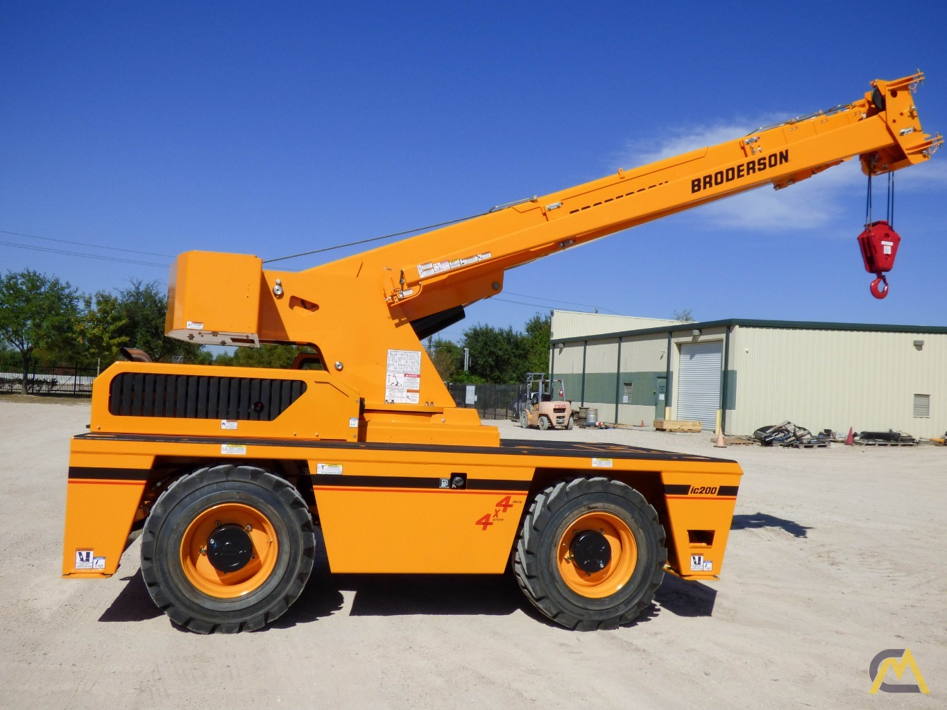 Broderson IC-200-3J 15-ton Available Immediately Carry Deck Industrial Crane 3