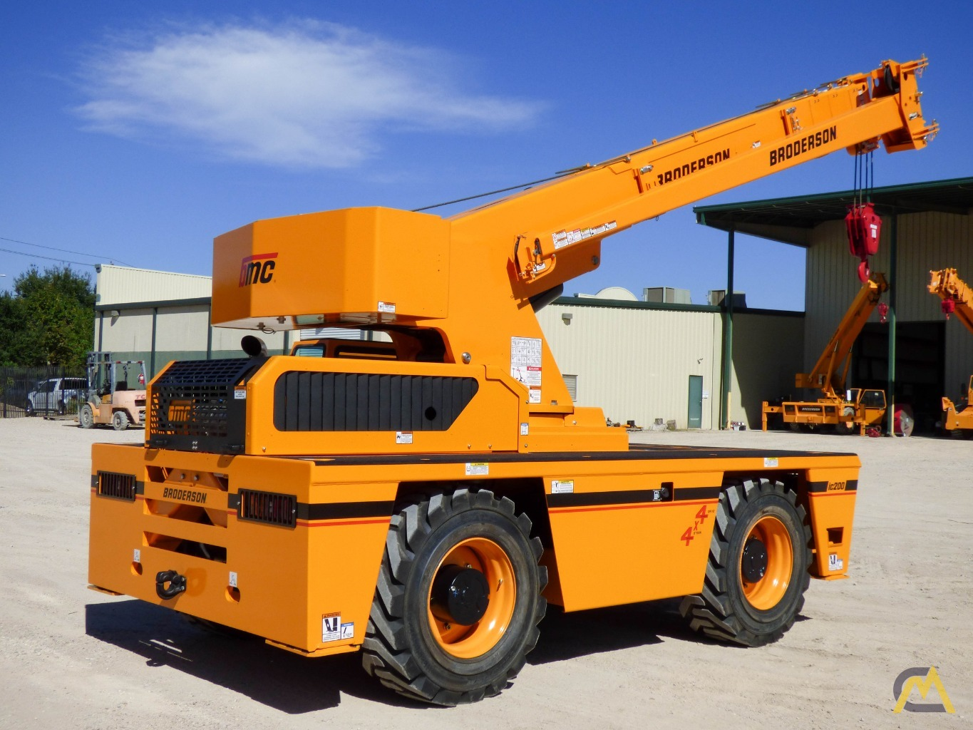 Broderson IC-200-3J 15-ton Available Immediately Carry Deck Industrial Crane 4