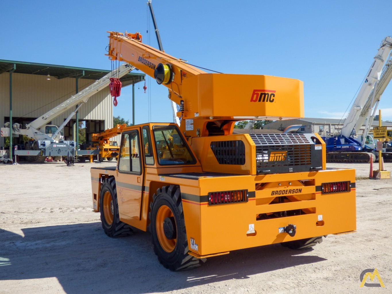Broderson IC-200-3J 15-ton Available Immediately Carry Deck Industrial Crane 7