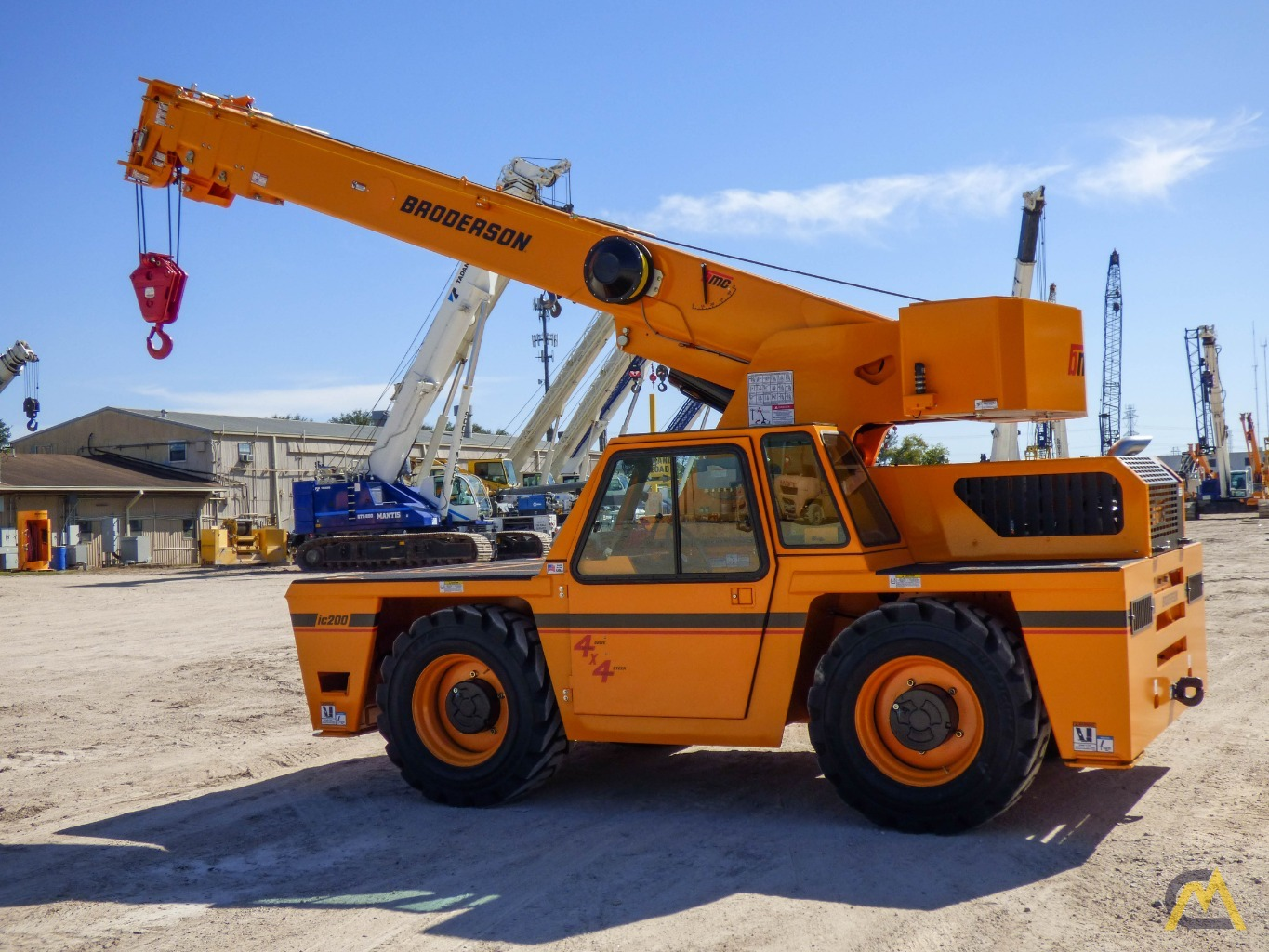 Broderson IC-200-3J 15-ton Available Immediately Carry Deck Industrial Crane 6