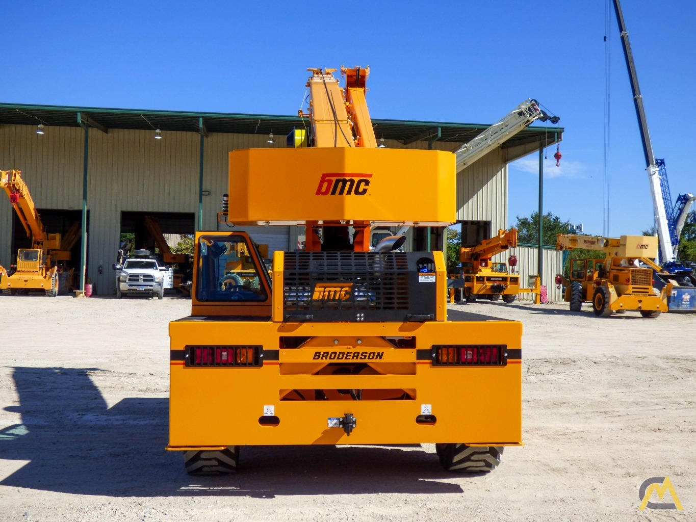 Broderson IC-200-3J 15-ton Available Immediately Carry Deck Industrial Crane 5